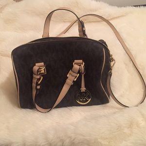 Michael Kors brown grayson bag